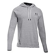 Mens Under Armour Sportstyle Jersey Half-Zips & Hoodies Technical Tops