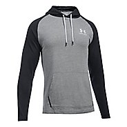 Mens Under Armour Sportstyle Jersey Half-Zips & Hoodies Technical Tops