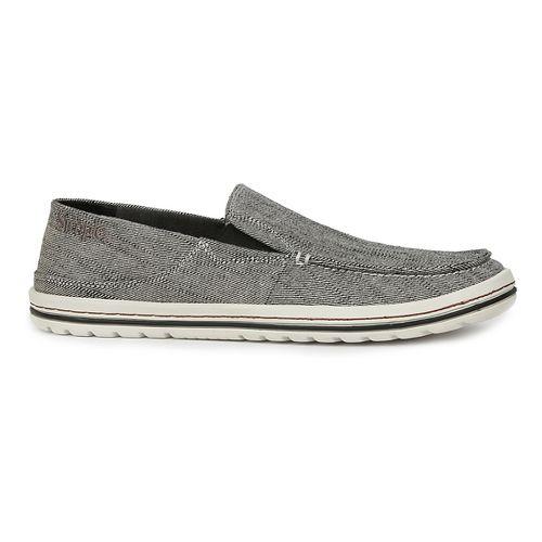 Mens Simple Dare Casual Shoe - Black Reverse 10