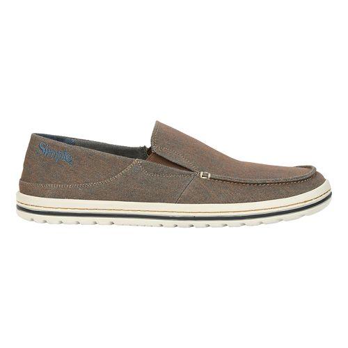 Mens Simple Dare Casual Shoe - Navy/Burnt Orange 12