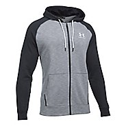 Mens Under Armour Sportstyle Full Zip Tri Half-Zips & Hoodies Technical Tops