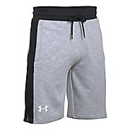 Mens Under Armour Sportstyle Graphic Unlined Shorts - Overcast Grey/Black M