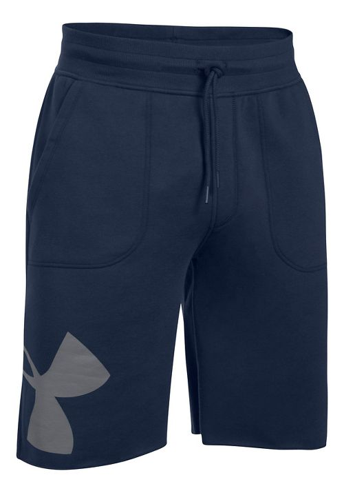 Mens Under Armour Rival Exploded Graphic Unlined Shorts - Midnight Navy XXL