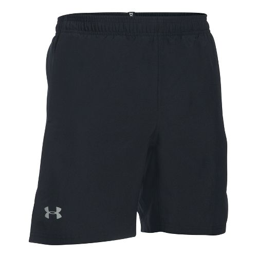 Mens Under Armour Speed Stride 7 Inch Woven Unlined Shorts - Black M
