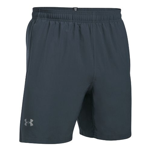 Mens Under Armour Speed Stride 7 Inch Woven Unlined Shorts - Stealth Grey/Black XXL