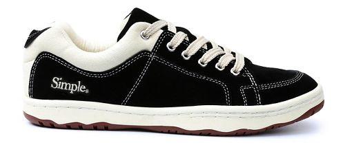 Mens Simple OS-Sneaker Casual Shoe - Black 12