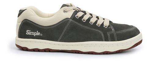 Mens Simple OS-Sneaker Casual Shoe - Grey 11