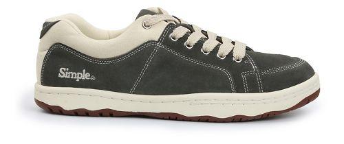 Mens Simple OS-Sneaker Casual Shoe - Grey 12