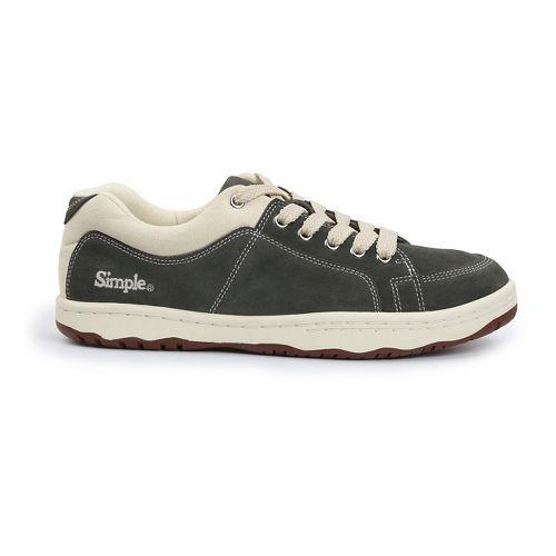 Mens Simple OS-Sneaker Casual Shoe - Grey 7.5