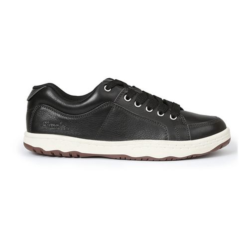 Mens Simple OS-Sneaker-L Casual Shoe - Black 7.5