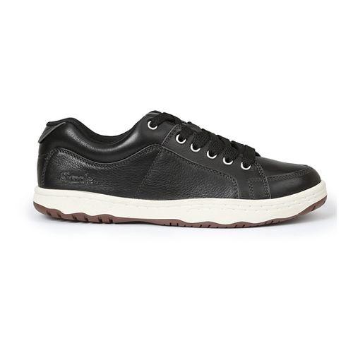 Mens Simple OS-Sneaker-L Casual Shoe - Black 9.5
