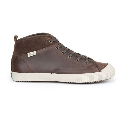 Mens Simple Waltham-L Casual Shoe - Dark Tan 11