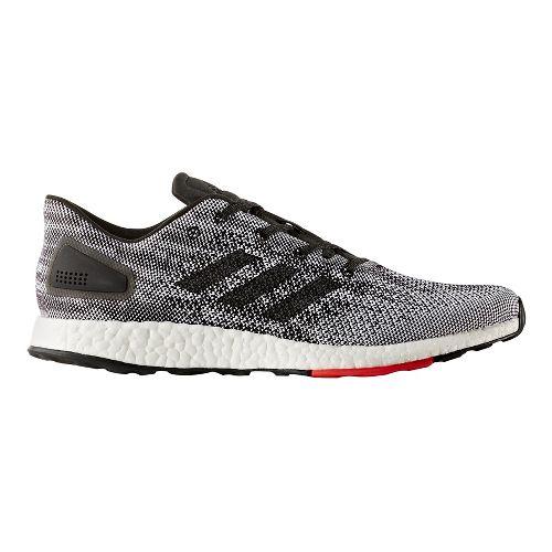 Mens adidas PureBoost DPR Running Shoe - Black/Solar Yellow 9.5