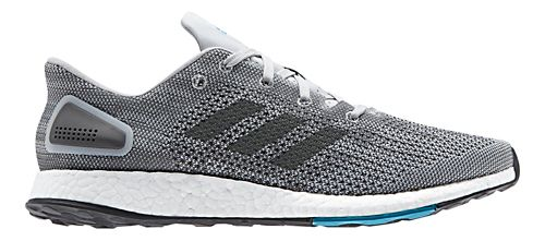 Mens adidas PureBoost DPR Running Shoe - Grey/Black 8.5