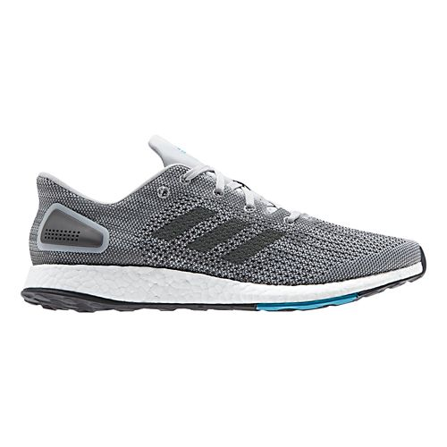 Mens adidas PureBoost DPR Running Shoe - Grey/Black 11