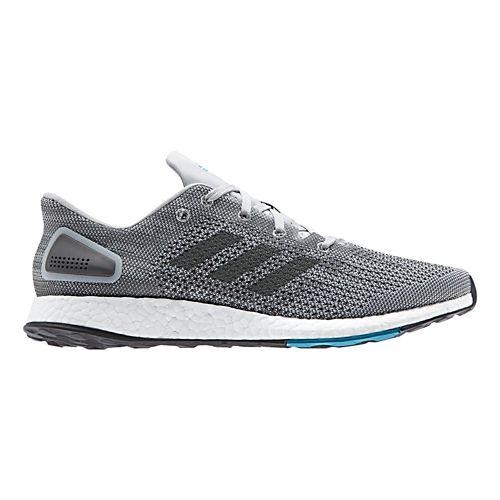 Mens adidas PureBoost DPR Running Shoe - Grey/Black 12