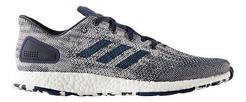 Mens adidas PureBoost DPR Running Shoe - Navy/White 10.5