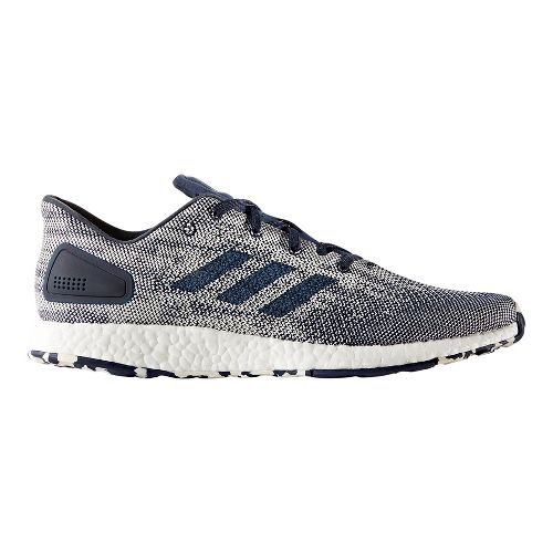 Mens adidas PureBoost DPR Running Shoe - Navy/White 12.5