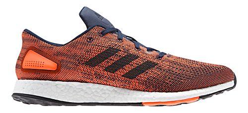 Mens adidas PureBoost DPR Running Shoe - Orange/Navy 12.5