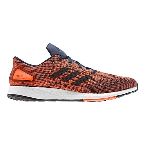 Mens adidas PureBoost DPR Running Shoe - Orange/Navy 10.5