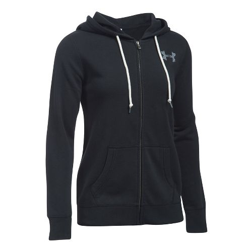 Favorite Fleece Full Zip Half-Zips & Hoodies Technical Tops - Black/White M