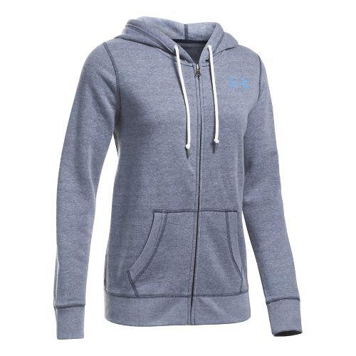 Favorite Fleece Full Zip Half-Zips & Hoodies Technical Tops - Navy/White XS