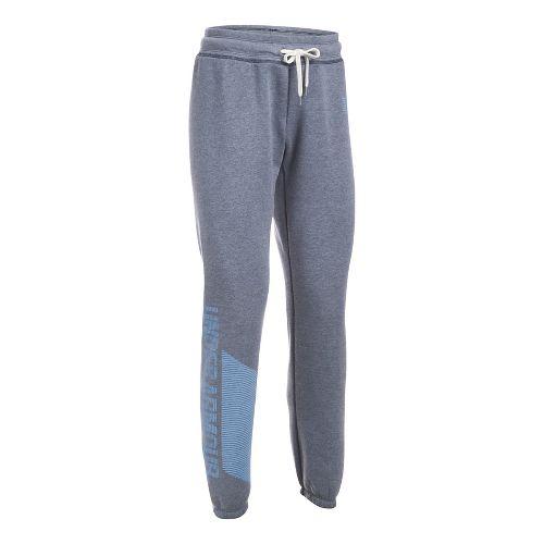 Womens Under Armour Favorite Fleece Pants - Navy/Blue S