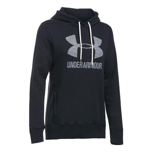 Favorite Fleece Sportstyle Half-Zips & Hoodies Technical Tops - Black/White S