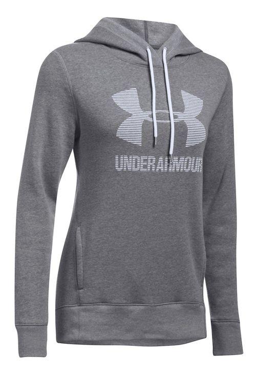 Favorite Fleece Sportstyle Half-Zips & Hoodies Technical Tops - Graphite/White L