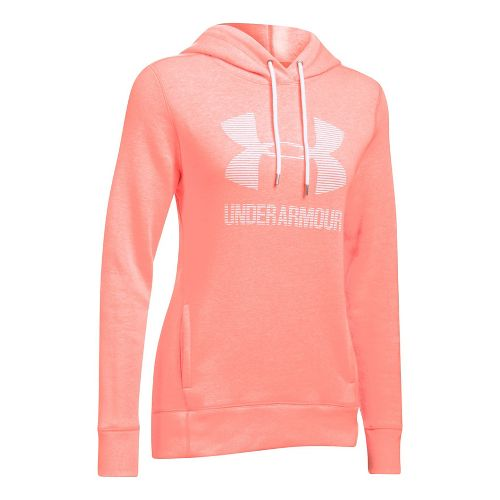 Favorite Fleece Sportstyle Half-Zips & Hoodies Technical Tops - Orange/White M