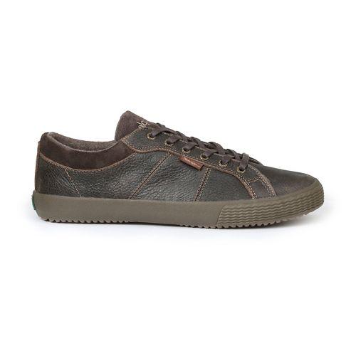 Mens Simple Waveoff Casual Shoe - Dark Brown 9.5