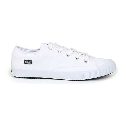 Mens Simple Wingman Casual Shoe - White 10