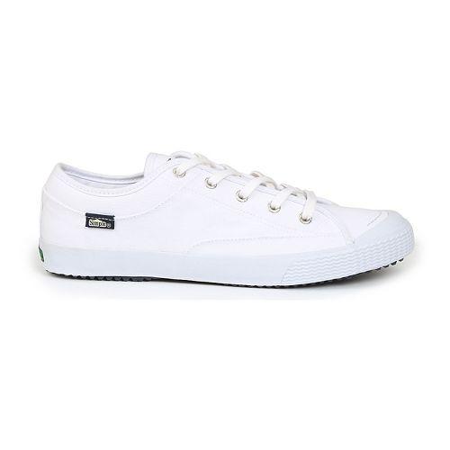 Mens Simple Wingman Casual Shoe - White 8
