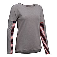 Womens Under Armour Favorite Tee Long Sleeve Technical Tops