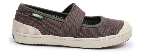 Womens Simple Cactus Casual Shoe - Black Stone Wash 6