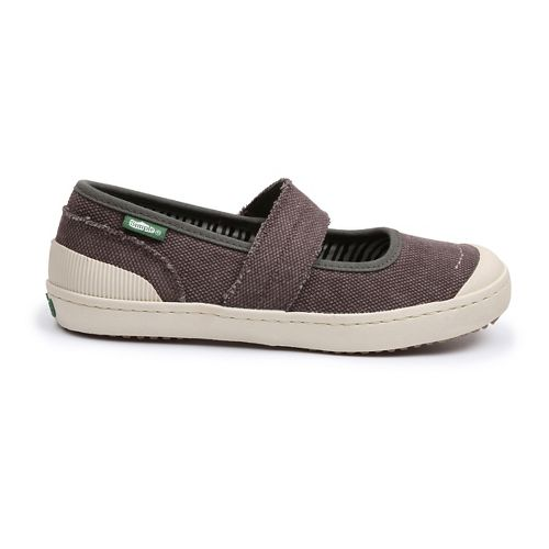 Womens Simple Cactus Casual Shoe - Black Stone Wash 8