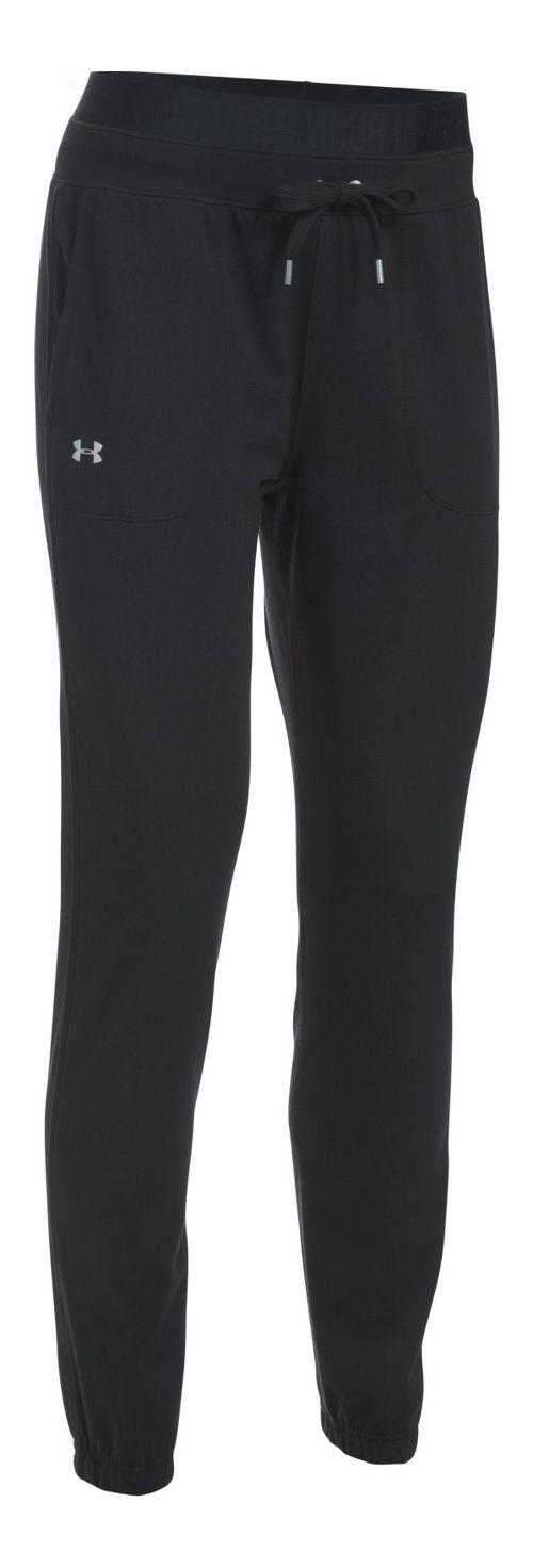 Womens Under Armour Favorite Skinny Jogger Pants - Black S