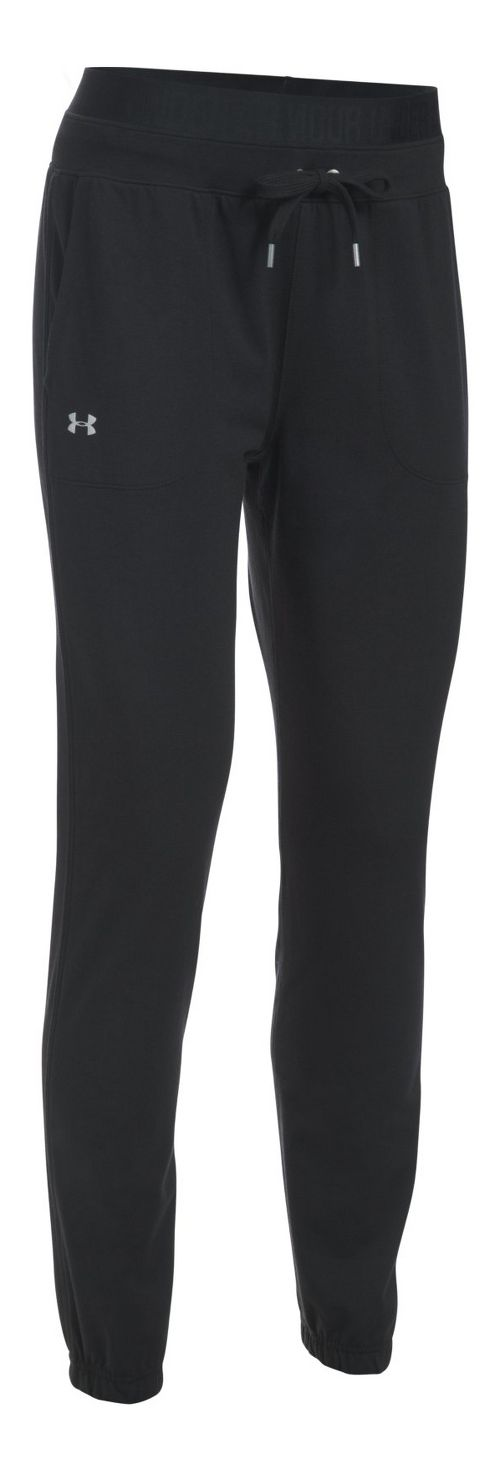 Womens Under Armour Favorite Skinny Jogger Pants - Black XL