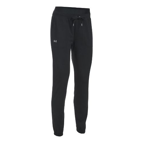 Womens Under Armour Favorite Skinny Jogger Pants - Black L
