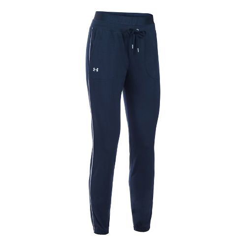 Womens Under Armour Favorite Skinny Jogger Pants - Midnight Navy M
