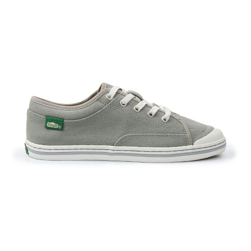 Womens Simple Satire Casual Shoe - Charcoal 6.5