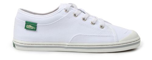 Womens Simple Satire Casual Shoe - White 8