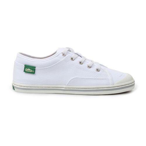Womens Simple Satire Casual Shoe - White 6.5