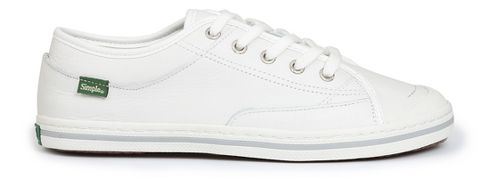 Womens Simple Satire-L Casual Shoe - White 6.5