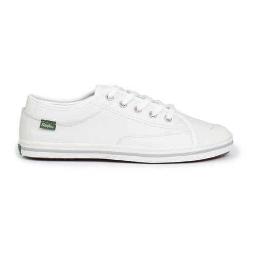 Womens Simple Satire-L Casual Shoe - White 6