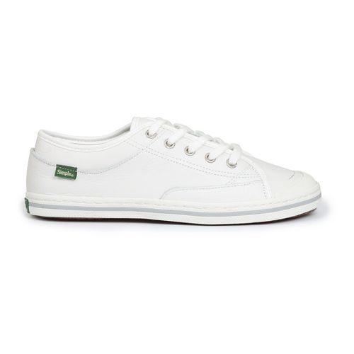 Womens Simple Satire-L Casual Shoe - White 7