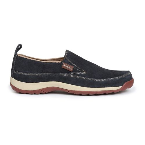Womens Simple Spice Casual Shoe - Navy 8.5