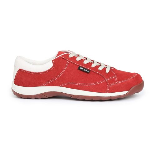 Womens Simple Sugar Casual Shoe - Red 7.5
