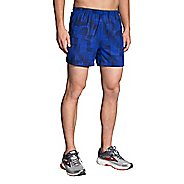 "Mens Brooks Sherpa 5"" Printed Lined Shorts"