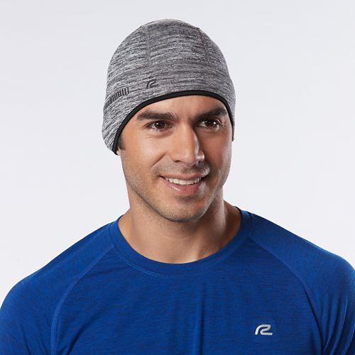 Unisex R-Gear Grid Fleece Beanie Headwear - Steel/Black L/XL